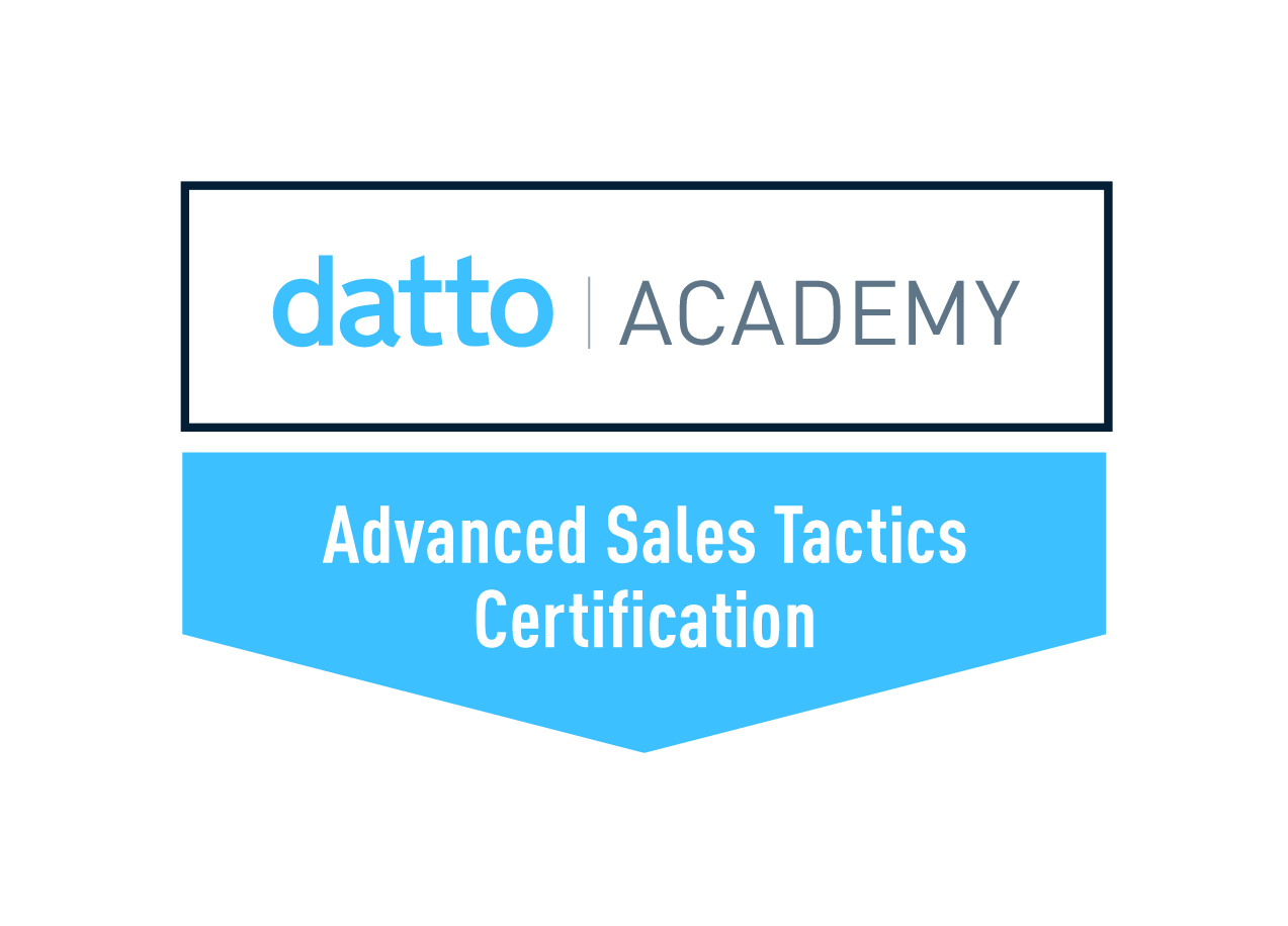Datto Advanced Sales Tactics Certification