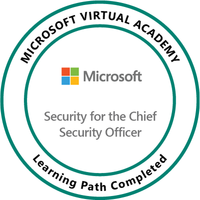 Microsoft Security for the Chief Security Officer